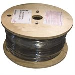 5 / 32 X 1000 FT, 1X19 Black Galvanized Aircraft Cable