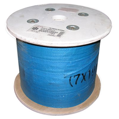 3 / 32 X 5000 FT, 7X7 Galvanized Aircraft Cable