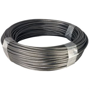 1 / 8 X 100 Ft 1X19 Stainless Steel Aircraft Cable