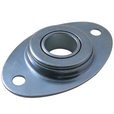 Football Bearing Plate w / 1 IN Flanged Bearing (PFL32)