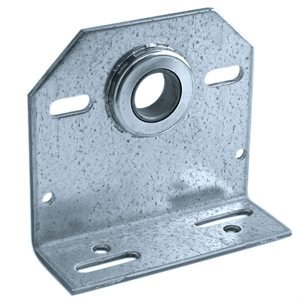 "Center Plate with 1"" Bearing, 8 GA with 3-3 / 8"" Offset X 24 Pcs"