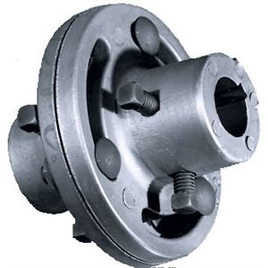 Steel Coupler For 1 Shafts