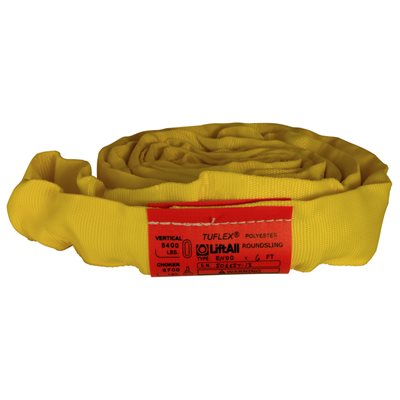 EN90 X 11 FT Yellow Tuflex Polyester Roundsling