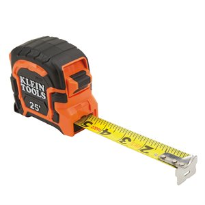 Tape Measure 25' Magnetic Double Hook