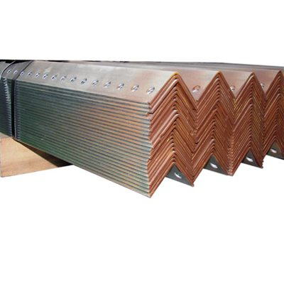 2 X 2 X 10 FT 12 Gauge Brown Galvanized Perforated Angle
