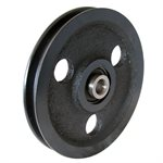 4 Cast Iron Sheave Pulley