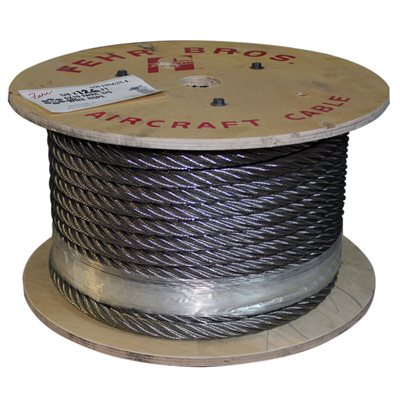 7 / 16 6X25 IWRC Stainless Steel Wire Rope Cut Length