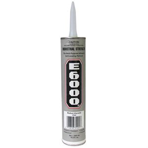 E6000 Adhesive for Threshold - 10.2 Oz Tube